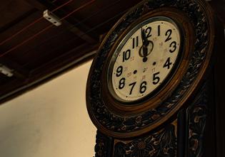古いが状態のいい時計